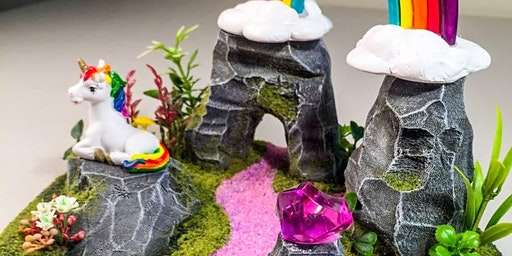 Life in Miniature: Build your own Unicorn World! Workshop at Cove Civic Centre