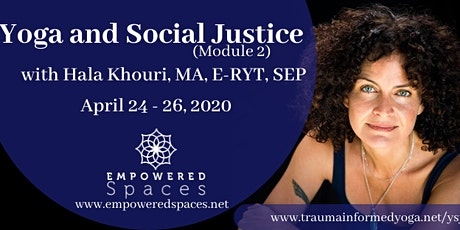 Yoga and Social Justice with Hala Khouri, MA, E-RYT, SEP - 20 Hour tickets