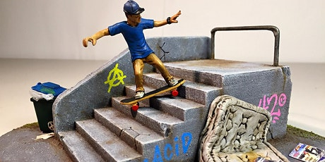 Life in Miniature: Build your own Skate Park! Workshop at Cove Civic Centre tickets