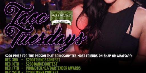 $2 Tuesday Las Vegas Latin Night Club: World Famous DJ Hennessy & Ulysis