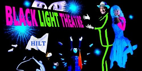 Black light theatre TICKETS - Teatro negro HILT Praga - MAGIC PHANTOM
