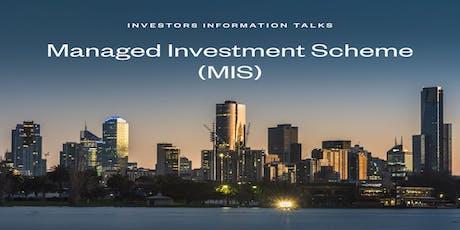 Investor Information Talks tickets