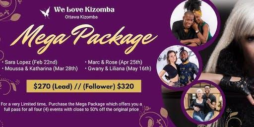 """""""We Love Kizomba"""" MEGA PACKAGE Special"""