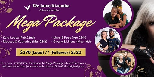 """We Love Kizomba"" MEGA PACKAGE Special"