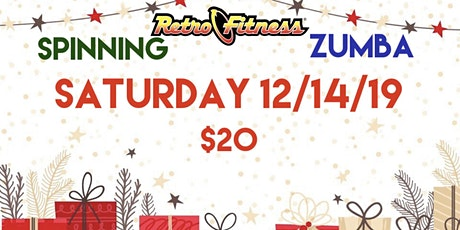 Spin and Zumba tickets