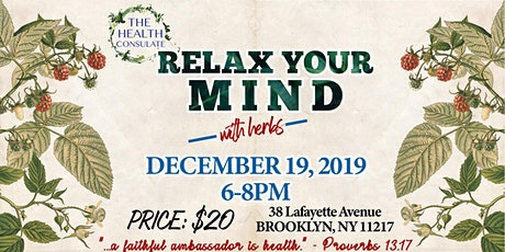 Relax Your Mind with Herbs tickets