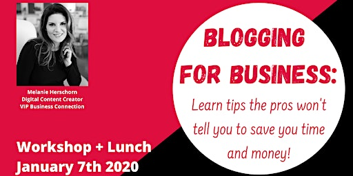 Blogging for business: tips the pros won't tell you to save time and money!