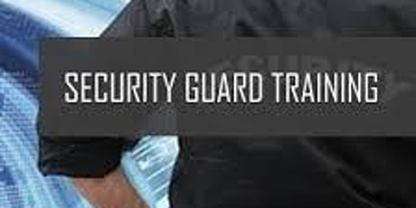 Online Guard Card Training-Powers To Arrest & WMD Courses (8 hours)  tickets