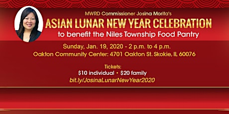 MWRD Comm. Morita's 2nd Annual Asian Lunar New Year Celebration tickets
