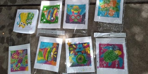 Christmas Sand Cards Workshop