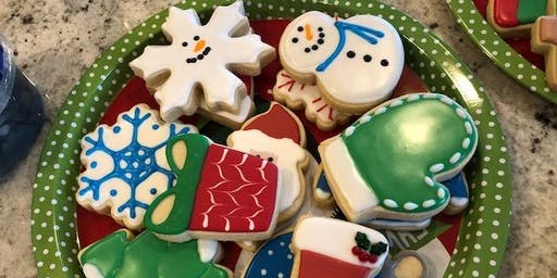 Adult Holiday Cookie Decorating Workshop (with the pros!)
