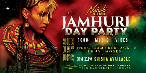 Jamhuri Day Celebrations DAY PARTY