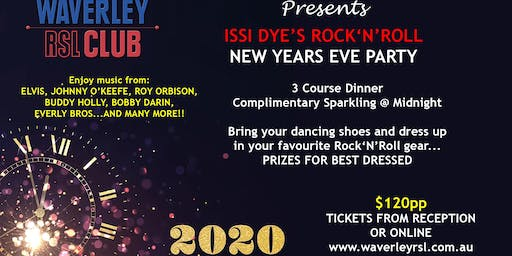 New Year's Eve Party Night!