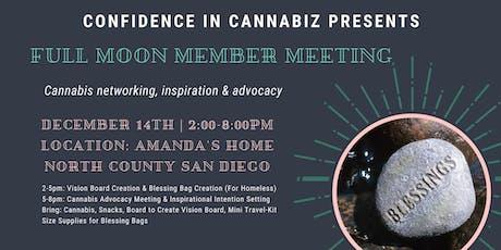 Confidence in Cannabiz Member Meetup tickets