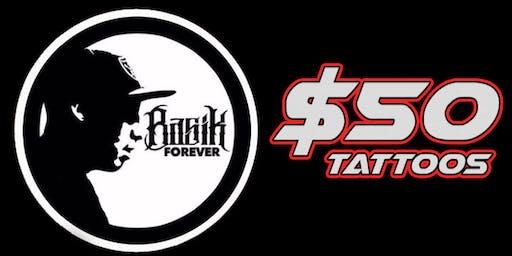 $50 Tattoo Special