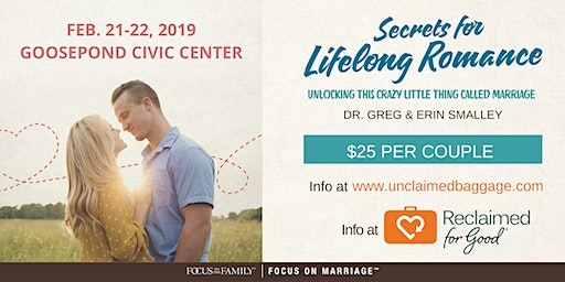 Focus on the Family Marriage Conference by Reclaimed for Good