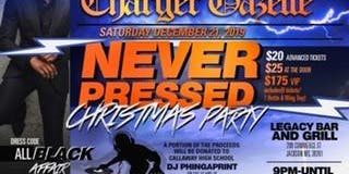 """Never Pressed"" the Callaway HS Alumni Christmas Party"