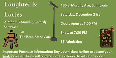 Laughter & Lattes: Stand-up Comedy Showcase at The Bean Scene Café tickets