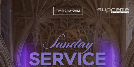 #SundayService ⛪️ December 8th 7pm-2am tickets
