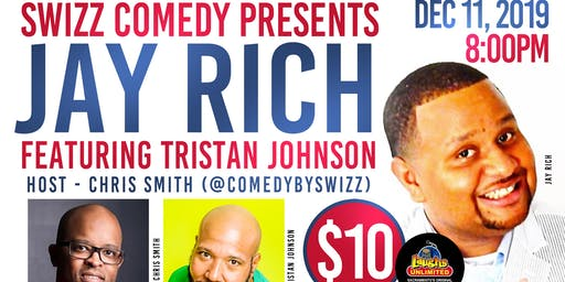 Swizz Comedy presents Jay Rich