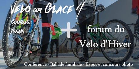 Vélo sur Glace 2020 / Forum Vélo d'Hiver billets