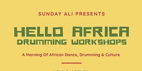 Saturday Sessions - Drumming Workshop tickets
