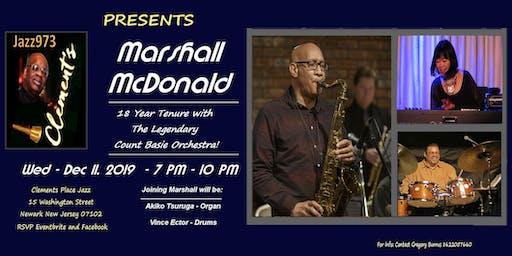 Jazz973 Presents the Marshall McDonald Trio w Akiko Tsuruga and Vince Ector