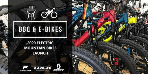 BBQ and E-Bikes - 2020 Electric Mountain Bikes Launch