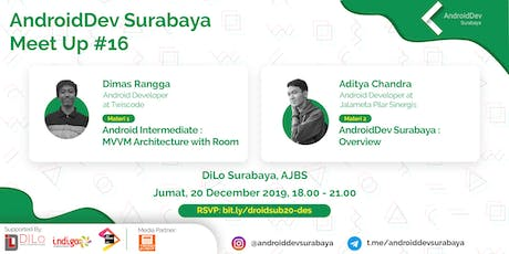 MVVM Architecture with Room and AndroiDdev Surabay tickets
