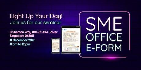 Seminar: SME Office e-Form tickets