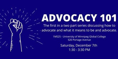 Advocacy 101: Part One tickets