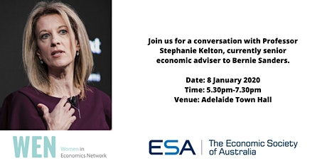 In conversation with Stephanie Kelton tickets