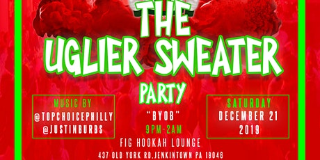 """The """"Uglier Sweater"""" Party tickets"""