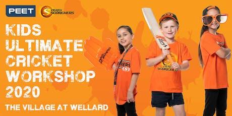 Peet & Perth Scorchers Kids Ultimate Cricket Workshop 2020 - Wellard tickets