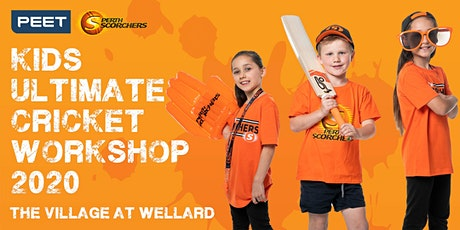 Peet & Perth Scorchers Kids Ultimate Cricket Workshop 2020 - Wellard tickets
