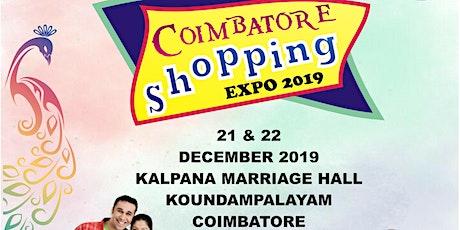 coimbatore shopping EXPO 2019 tickets