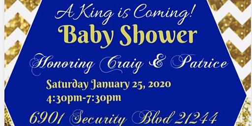 Baby shower for a KING