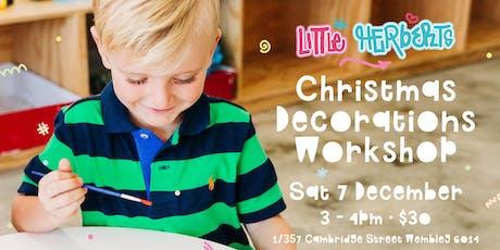 Little Herberts Christmas Decorating Workshop tickets