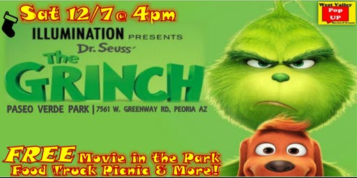 A Peoria Jolly Holiday Food Truck MOVIE NIGHT & MORE! Sat 12/7