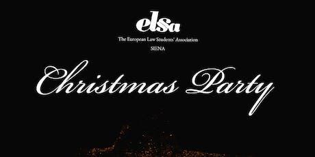 Christmas Party biglietti