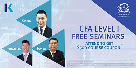 CFA Level I  Seminar (*CEF Course) tickets