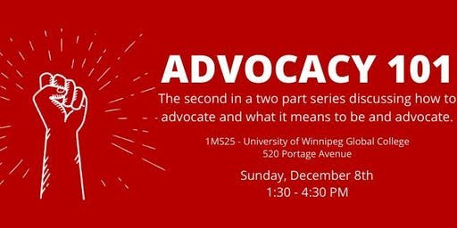 Advocacy 101: Part Two