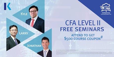 CFA Level II Seminar (*CEF Course) tickets