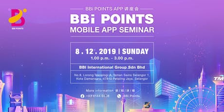 Spend . Earn . Be Rewarded with BBi Points ! tickets