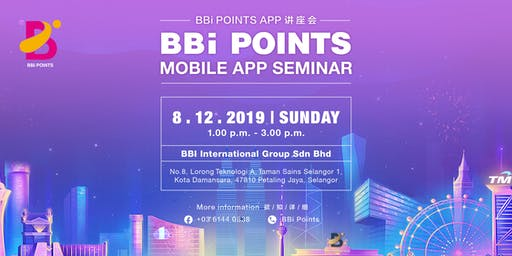 Spend . Earn . Be Rewarded with BBi Points !