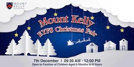Mount Kelly EYFS Christmas Fair tickets