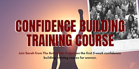 Confidence Building Training Course tickets