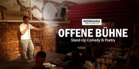 """Stand-Up Comedy und Poetry """"Hamburg Offene Bühne"""" billets"""