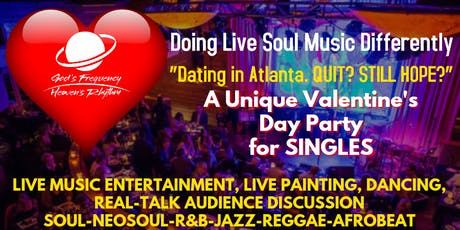 Valentine's Day Party & Live Show for Singles tickets