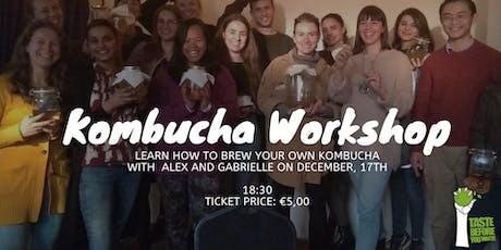 Brew your own Kombucha - Workshop tickets